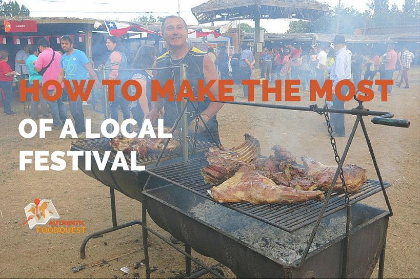 Chilean Local Festival Talca Authentic Food Quest