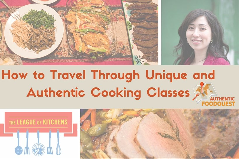 Immersive cooking classes with The League of Kitchens