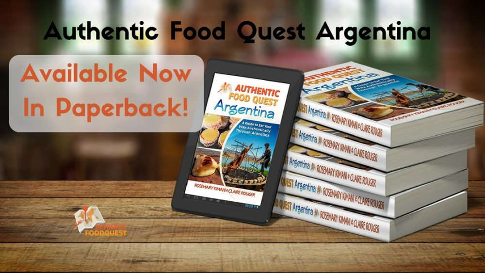 authentic food quest argentina paperback